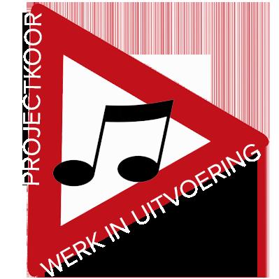 Projectkoor 'Werk in Uitvoering' Logo